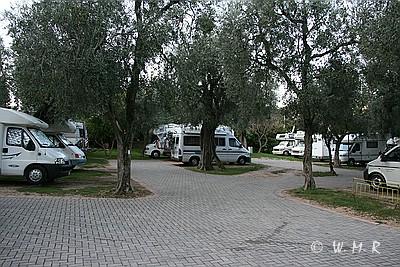 SP Malcesine vor Campingplatz Lombardi