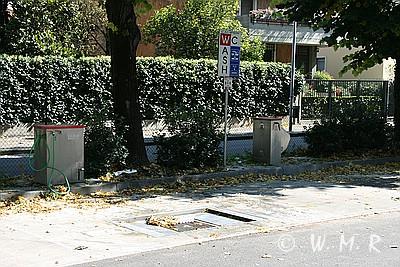 Wohnmobilstellplatz Verona - V+E Station