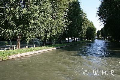 Canale Camuzzoni - links ist der SP zu erkennen