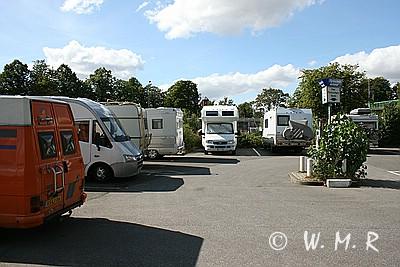 WoMo Parkplatz Luebeck