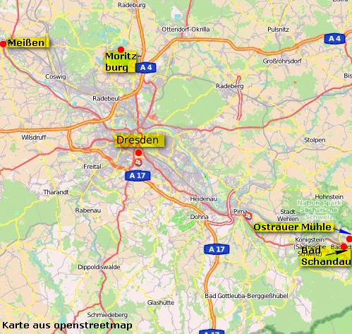 MAP Bad Schandau
