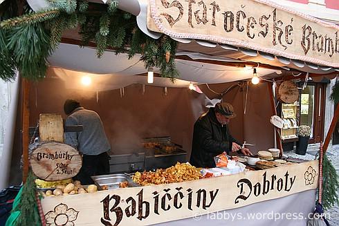 Weihnachtsmarkt Cesky Krumlov