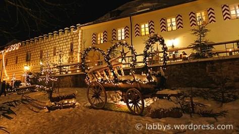 Weihnachtsmarkt Schloss Guteneck