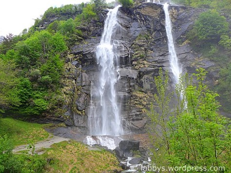 Wasserfälle bei