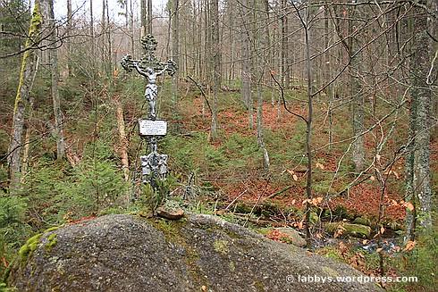 Gedenkstein für einen Wilderer