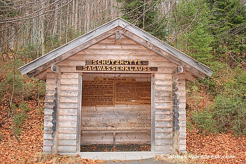 Schutzhütte an der Sagwasserklause