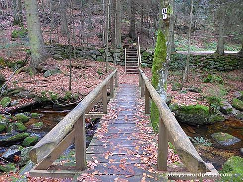 Brücke über das Sagwasser