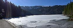 Schwarzer See (Cerné jezero) und Teufelssee (Certovó jezero)