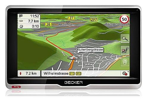 Erfahrungsbericht Navigationsgerät Becker active 6.LMU im Wohnmobil