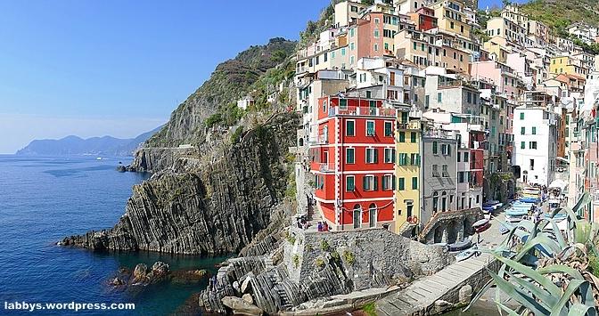 Mit dem Wohnmobil durch die Cinque Terre