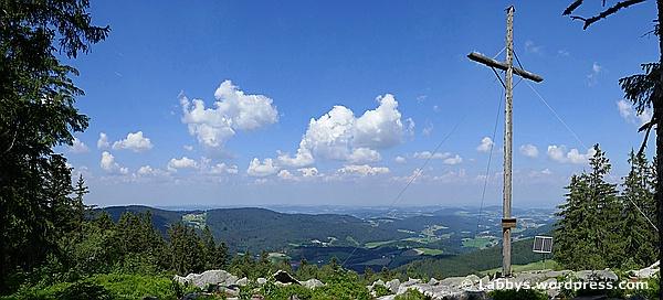 Eine Panoramatour vom Pröller zur Käsplatte im Bayerischen Wald
