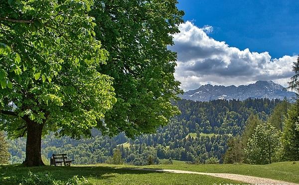 Bergwandern an Pfingsten in Garmisch