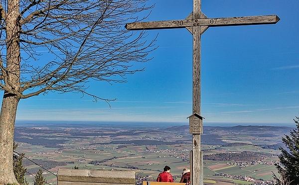 Höhenwanderweg am Hohenbogen